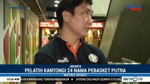 Fictor Roring Kantongi 24 Nama Pebasket Putra untuk <i> Test Event </i> Asian Games