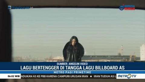 Single Terbaru Anggun C Sasmi Bertengger di Tangga Lagu Billboard AS