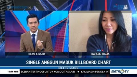 Anggun Bangga dan Senang Singlenya Masuk Billboard Chart