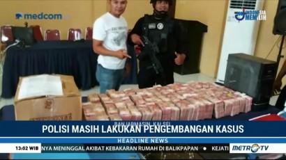 Oknum Polisi Tertangkap Merampok Uang Rp12 M