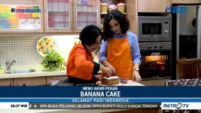 Menu Akhir Pekan: Banana Cake