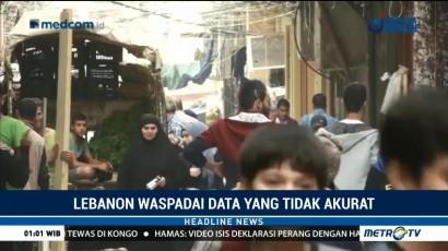 174.442 Pengungsi Palestina Tinggal di Lebanon