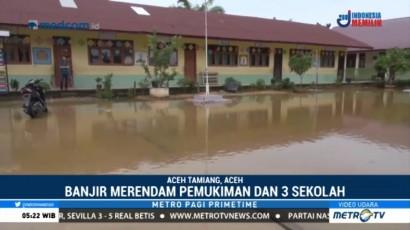 Aktivitas Tiga Sekolah di Aceh Tamiang Dihentikan Sementara Akibat Banjir