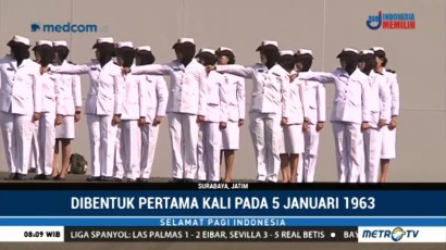 Korps Wanita Angkatan Laut Peringati HUT ke-55