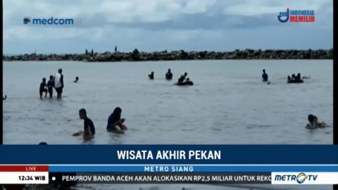Pantai Akkarena Jadi Alternatif Wisata bagi Warga Makassar