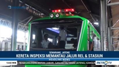 PT KAI Resmikan Kereta Api Inspeksi Generasi ke-2