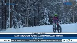 Sensasi Menjelajahi Lintasan Salju dengan Fat-Bike
