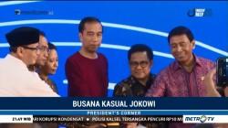 Busana Kasual Jokowi
