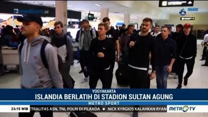 Timnas Islandia Tiba di Yogyakarta