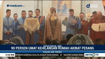 Umat Kristen Ortodoks Armenia Baru Rayakan Natal
