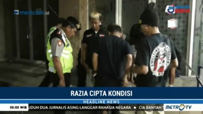 Petugas Gabungan Tangkap Puluhan Remaja yang Resahkan Warga di Bekasi