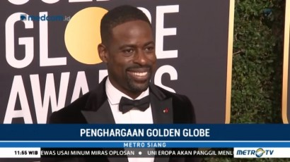 Sterling K. Brown Catat Sejarah di Golden Globe 2018