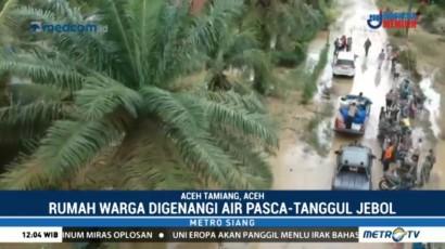 Tanggul Jebol di Aceh Tamiang Belum Diperbaiki