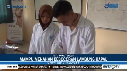 Siswa SMA Temukan Material Pelapis Lambung Kapal Kayu dari Silika Abu Sekam Padi