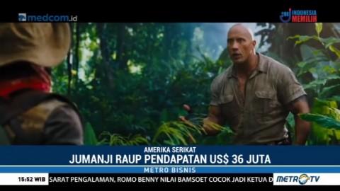 Jumanji: Welcome to The Jungle Puncaki Tangga Box Office