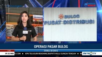Perum Bulog Kirim 20 Ribu Ton Beras untuk Operasi Pasar