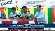 Kakanwil Kemenkumham Akui Lapas Kelas IIA Banda Aceh Tak Tertib
