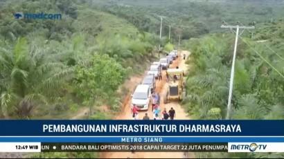 Kabupaten Dharmasraya Tingkatkan Pembangunan Infrastruktur