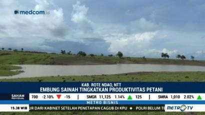 Ada Embung, Jokowi Berharap Produktivitas Pertanian Rote Ndao Meningkat