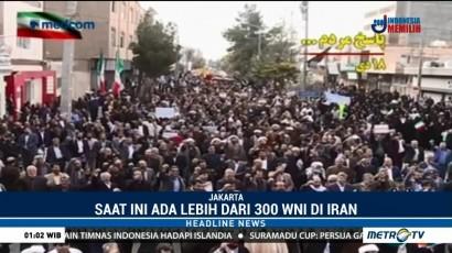 WNI di Iran Diimbau Hindari Aksi Protes Massa