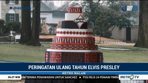 Penggemar Rayakan Ulang Tahun Mendiang Elvis Presley