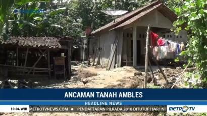 Belasan Rumah di Semarang Terancam Tanah Ambles