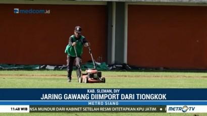 Stadion Maguwoharjo Berbenah Jelang Laga Islandia Vs Indonesia Selections
