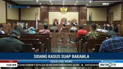 Kasus Suap Bakamla, Saksi Mengaku Diminta Serahkan Uang Rp1 M ke Novel Hasan