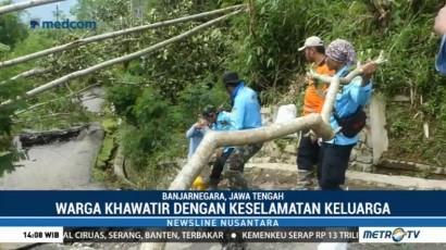 Longsor, Dua Desa di Banjarnegara Terisolir