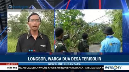 Longsor di Banjarnegara, BPBD Bersama Warga Buat Jalur Darurat