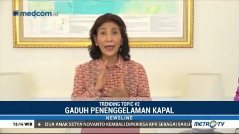 Menteri Susi: Menenggelamkan Kapal Pencuri adalah Tugas Negara