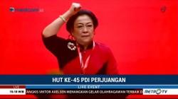 Pidato Megawati di HUT ke-45 PDIP (3)