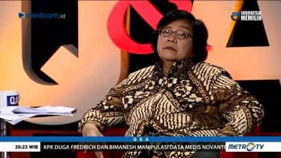 Menteri Siti Nurbaya Bantah Kebijakan KLHK Berorientasi Proyek