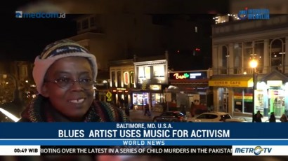 Baltimore Blues Artist Uses Music As a Platform for Activism