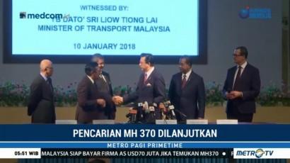 Malaysia Kembali Cari Pesawat MH370