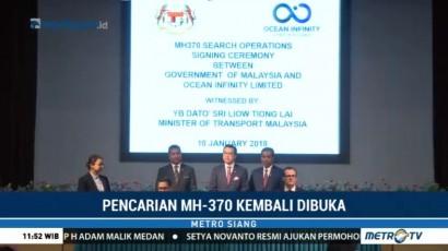 Cari MH370, Malaysia Gandeng Perusahaan Swasta AS