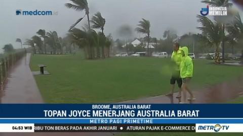 Australia Barat Diterjang Topan Joyce