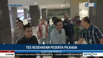 Paslon Gubernur Sumut Jalani Tes Kesehatan & Psikotes