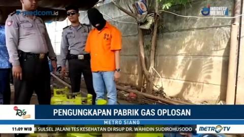 Polisi Bongkar Sindikat Pengoplos Gas Bersubsidi di Tangerang