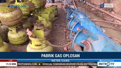 Kronologi Penggerebekan Pabrik Gas Oplosan di Tangerang