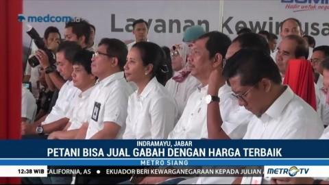 Menteri BUMN Resmikan BUMDes di Indramayu