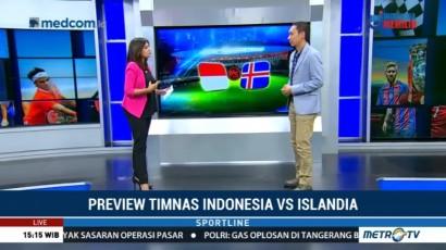 Preview Timnas Indonesia vs Islandia