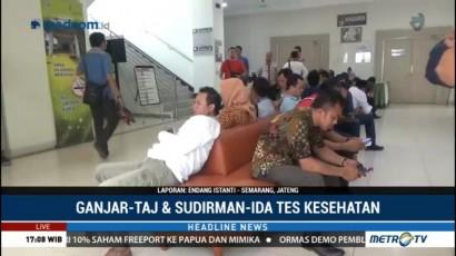 Kandidat Pilgub Jateng Jalani Tes Kesehatan di Semarang