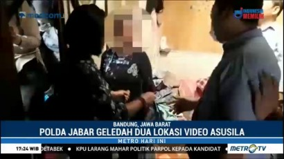 Polisi Geledah Dua Lokasi Terkait Video Asusila Libatkan Anak di Bandung
