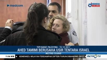 Ahed Tamimi Jadi Ikon Perjuangan Rakyat Palestina