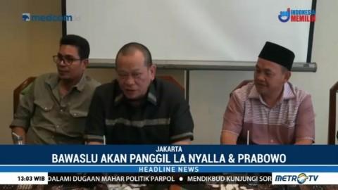 Bawaslu akan Konfirmasi Pernyataan La Nyalla soal Mahar di Pilgub Jatim