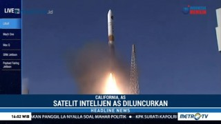 Peluncuran Satelit Rahasia AS