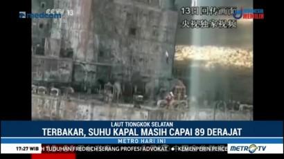 Dua Jasad Ditemukan di Kapal Tanker Minyak yang Masih Terbakar