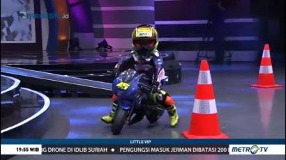 Abimanyu Bintang Fermadi, Pembalap Motor Cilik Berprestasi