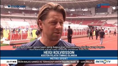 Timnas Islandia Puji Kemegahan Stadion Utama GBK